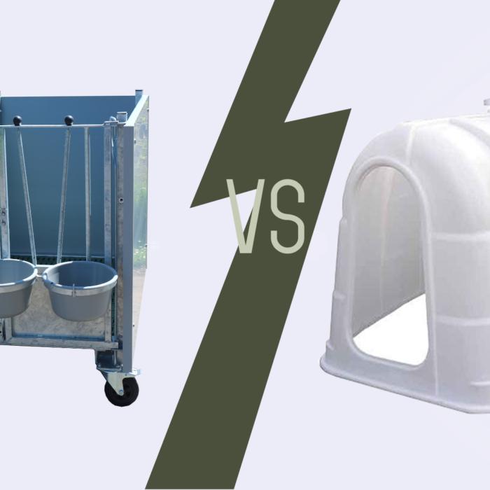 Calf hutch vs calf igloo