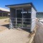 double calf hutch